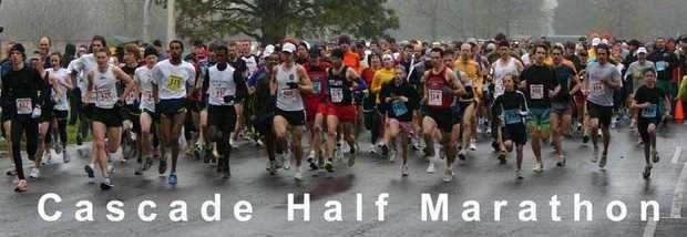 Cascade Half Marathon banner