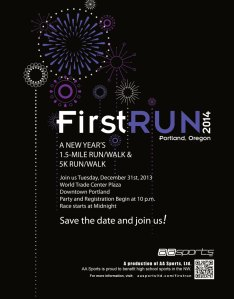 2014 First Run and Walk