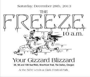 Freeze Your Gizzard Blizzard 2013 logo