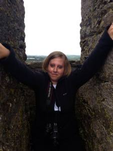 Bobbi at Blarney Castle