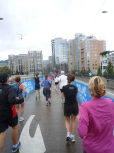 Runners at the Portland Marathon