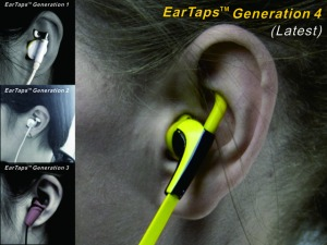 Updates to the current EarTaps™ model.