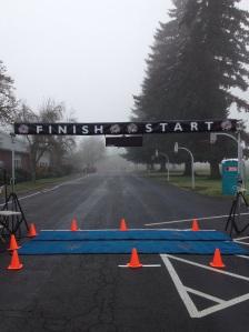 The start and finish line! - Photo by Matt Rasmussen