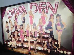 The Divas at the Diva Den Studio.  Photo Credit:  Amy Little