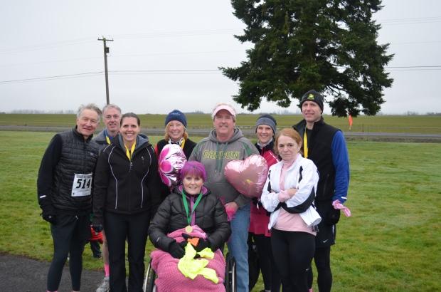 Team Karen after Cascade Half