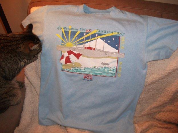My Life In Race Shirts 1989 Hood To Coast Relay Run Oregon