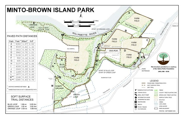 Map of Minto Brown Park