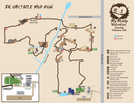 Course map for My Muddy Valentine (c) Terrapin Events