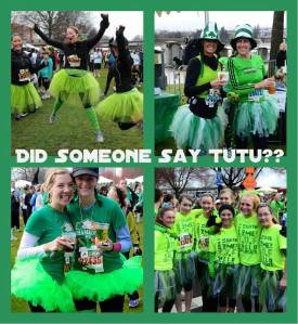 Tons of Tutus at the 2013 Shamrock Run Photos by Waz-Mix Pix