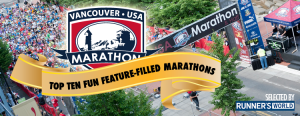 Vancouver USA Marathon Voted one of the funnest Mararthons!