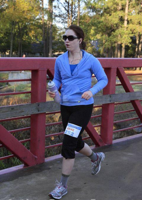 Running at Soaring Wings, the half marathon that finally got my act together to train for the full.