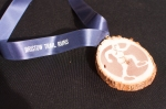 Level 32 Racing provided hand made wood medals to top finishers
