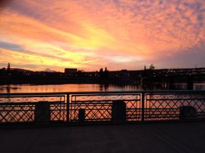One of the many beautiful views along the waterfront.    Photo credit:  Amanda Ulrich