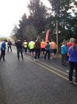 Roaring Run Half Marathon Start
