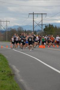 The start of the 2009 Spring Classic Duathlon. - Photo by AA Sports