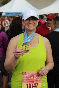 Run Oregon reader Susan Cooke and her awesome Tinker Bell Half medal!