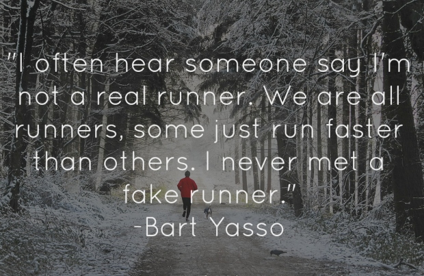 FAKE RUNNER burt yasso quote real runner