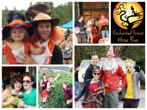 The Enchanted Forest Wine Run (Long Run Photos)