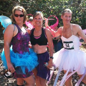 Fairies costumed Runners at the Enchanted Forest Wine Run (Long Run Photos)