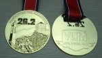 Vancouver USA Marathon Finisher Medal 6/15/14