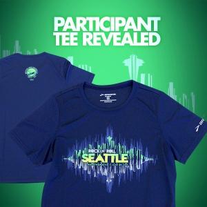 Seattle Rock 'N' Roll T-Shirt for the Marathon and Half Marathon