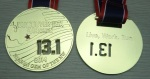 Vancouver USA Half-Marathon Finisher Medal 6/15/14