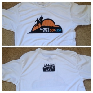 Mary's Peak 50k/25k Tech Shirt