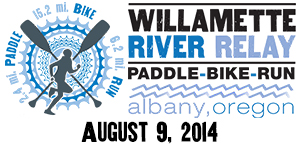 Willamette River Relay - August 9, 2014