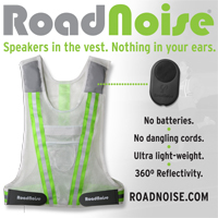 Road Noise reflective running vests