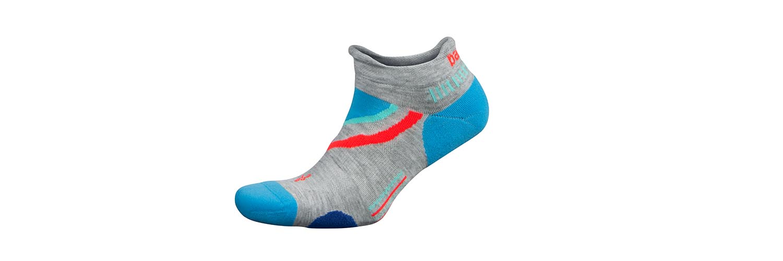 Balega UltraGlide Friction-Free No-Show Running Socks for Men and Women